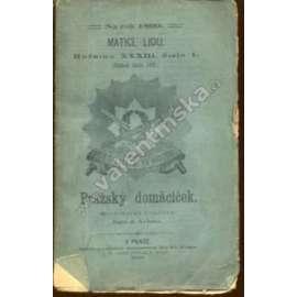 Pražský domácíček (Matice lidu, 1899)