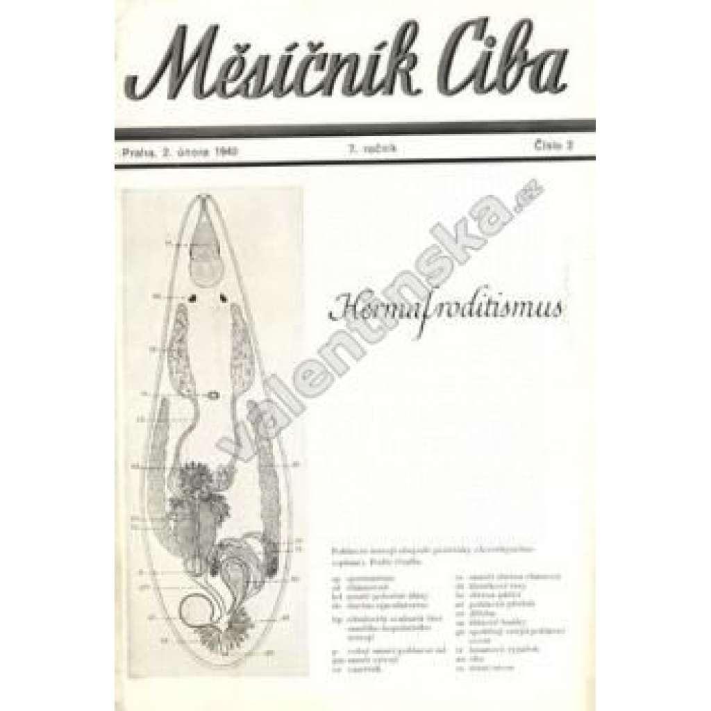 Měsíčník Ciba 1940. 7.ročník. Číslo 2.