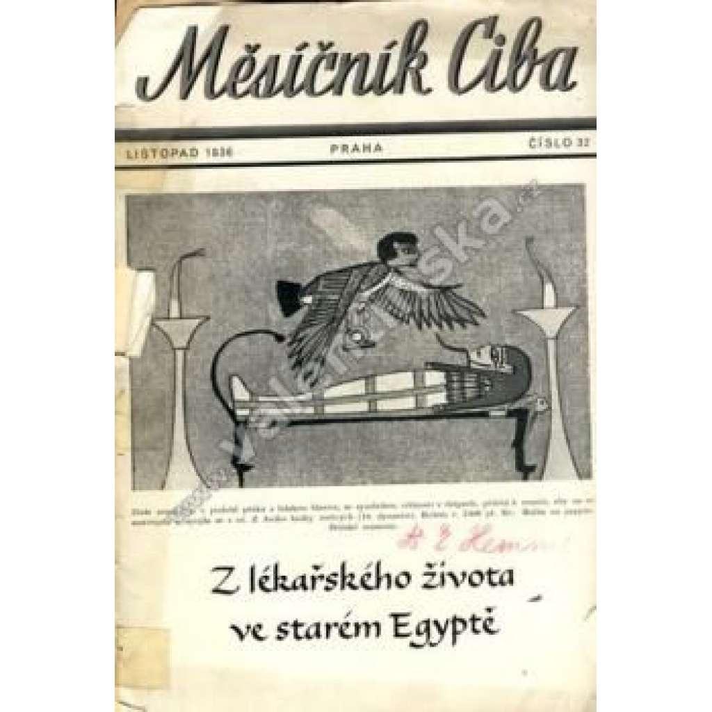 Měsíčník Ciba 1936. 3.ročník. Číslo 32.
