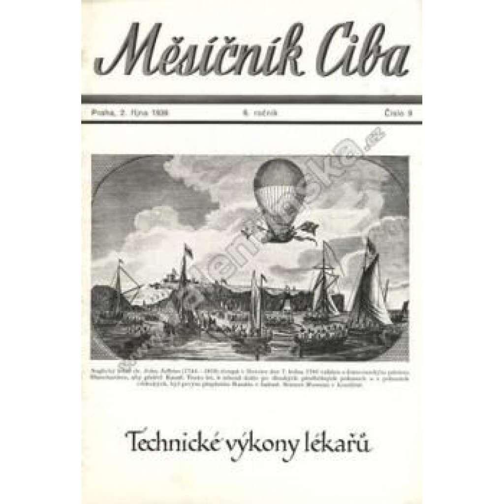 Měsíčník Ciba 1939. 6.ročník. Číslo 9.
