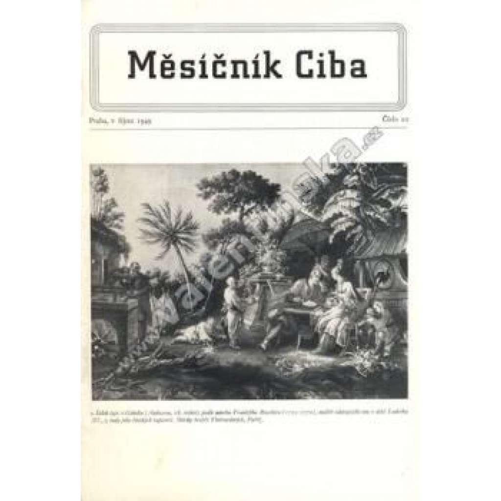 Měsíčník Ciba 1949.  Číslo 10.