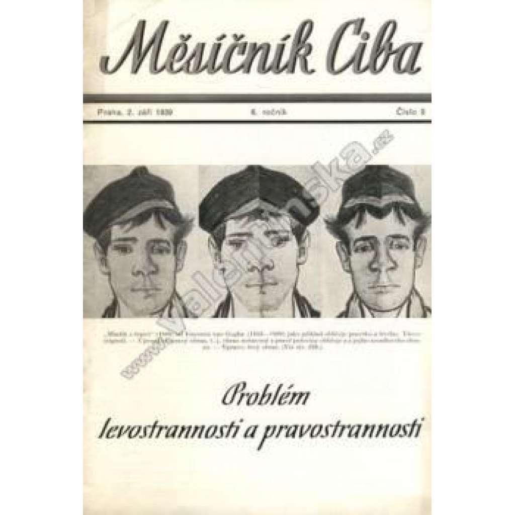 Měsíčník Ciba 1939. 6.ročník. Číslo 8.