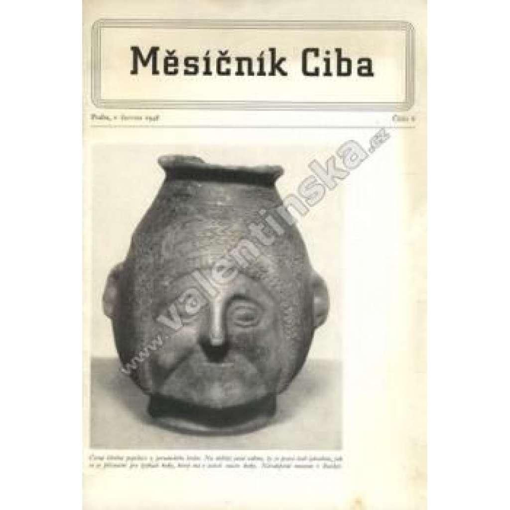Měsíčník Ciba 1948.  Číslo 6.