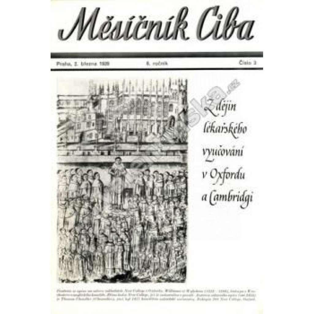 Měsíčník Ciba 1939. 6.ročník. Číslo 3.