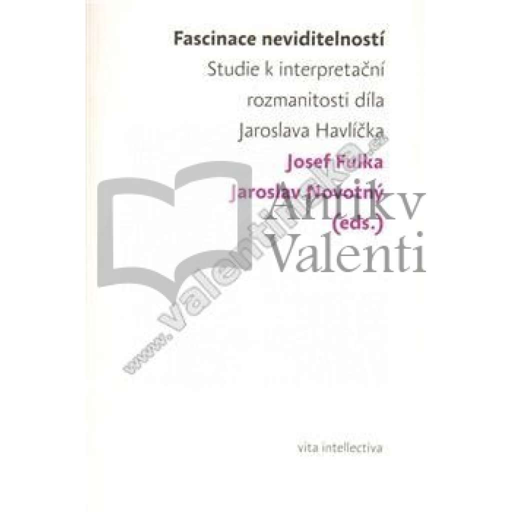 Fascinace neviditelností - Studie k interpretační