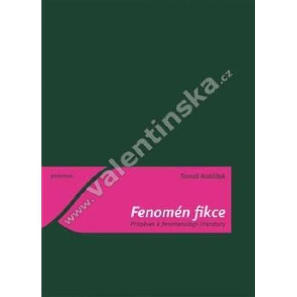 Fenomén fikce-Příspěvek k fenomenologii literatury