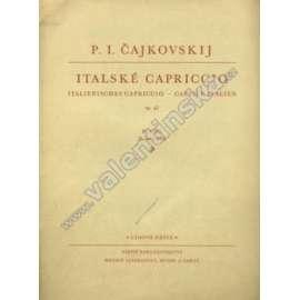 Italské Capriccio. Pro klavír