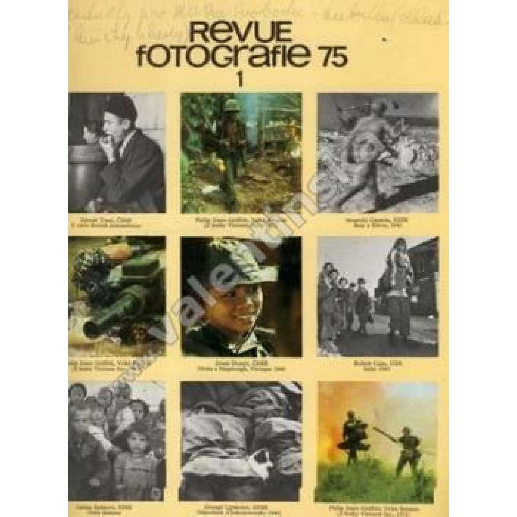 Revue Fotografie 75. Ročník XIX. Číslo 1.