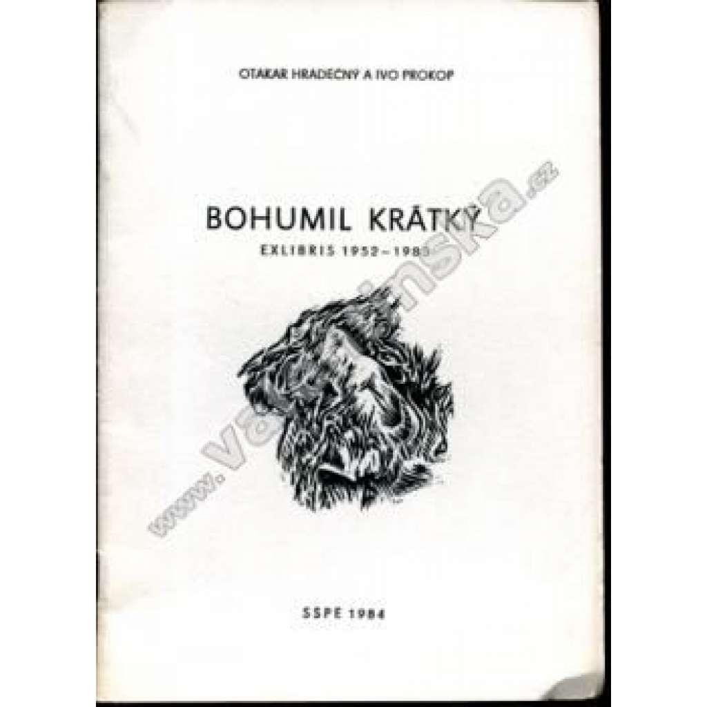 Bohumil Krátký, ex libris 1952 - 1983
