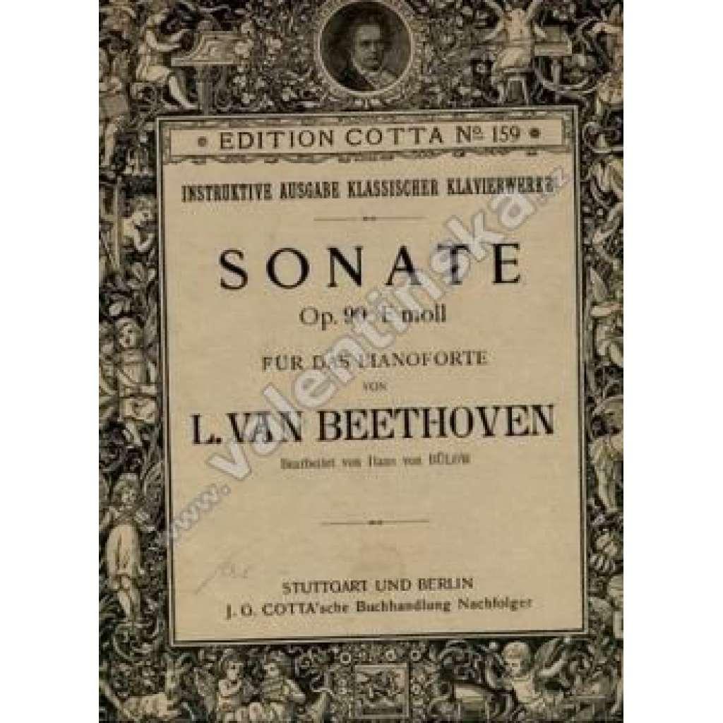 Sonate Op.90. E moll