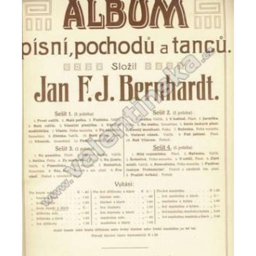 Album písní, pochodů a tanců.Sešit 4.