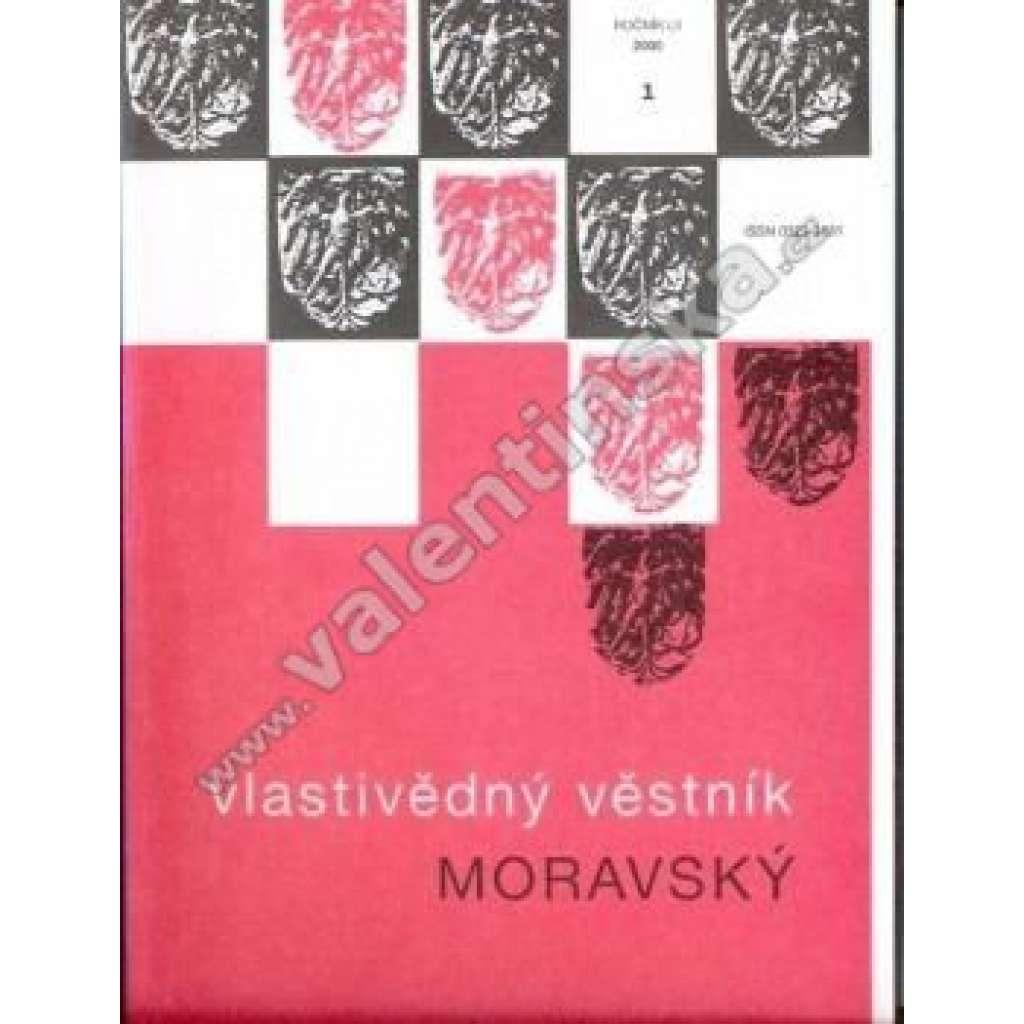 Vlastivědný věstník moravský 1/2000; roč. LII.