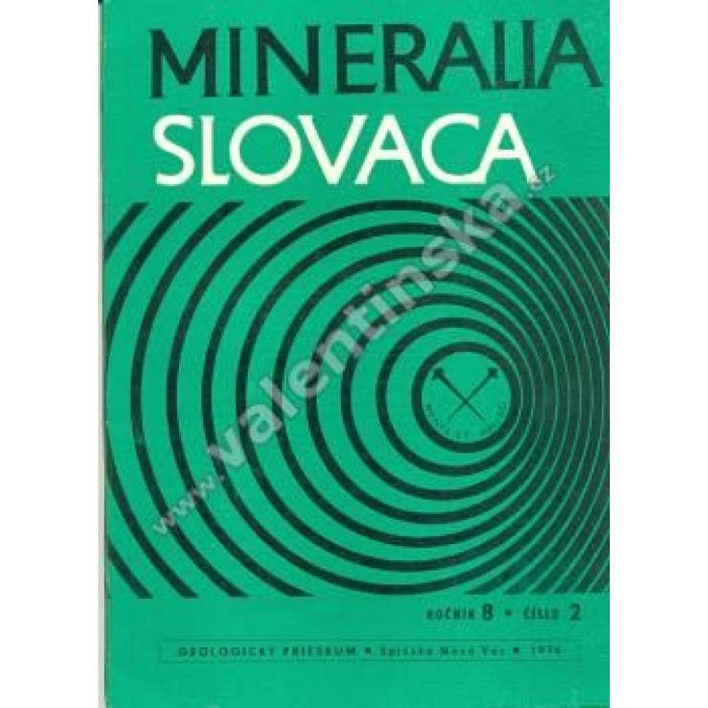 Mineralia Slovaca, roč. 8., č. 2.; 1976