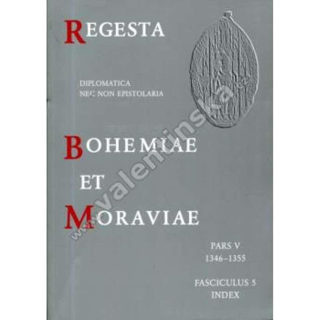 Regesta Bohemiae et Moraviae, V/5