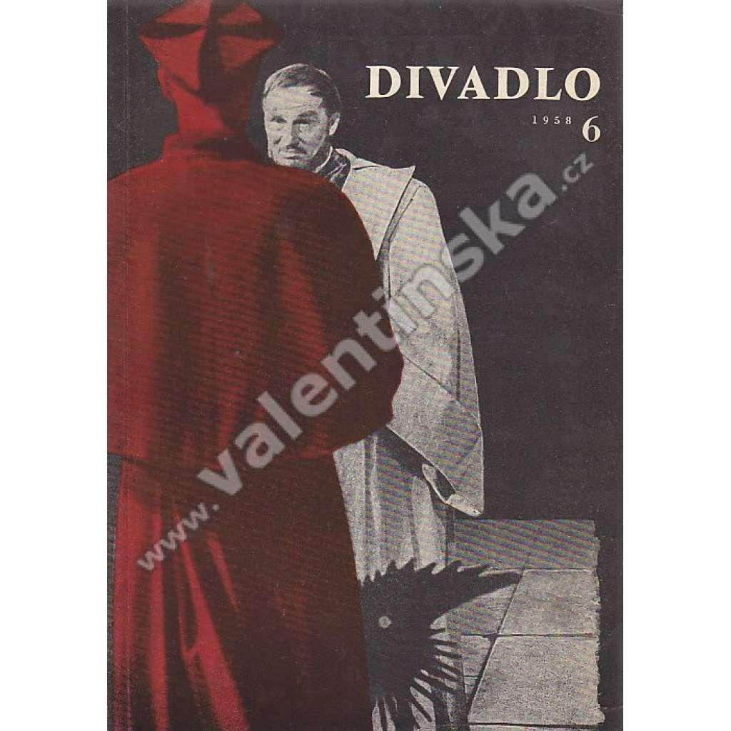 Divadlo - červen/1958