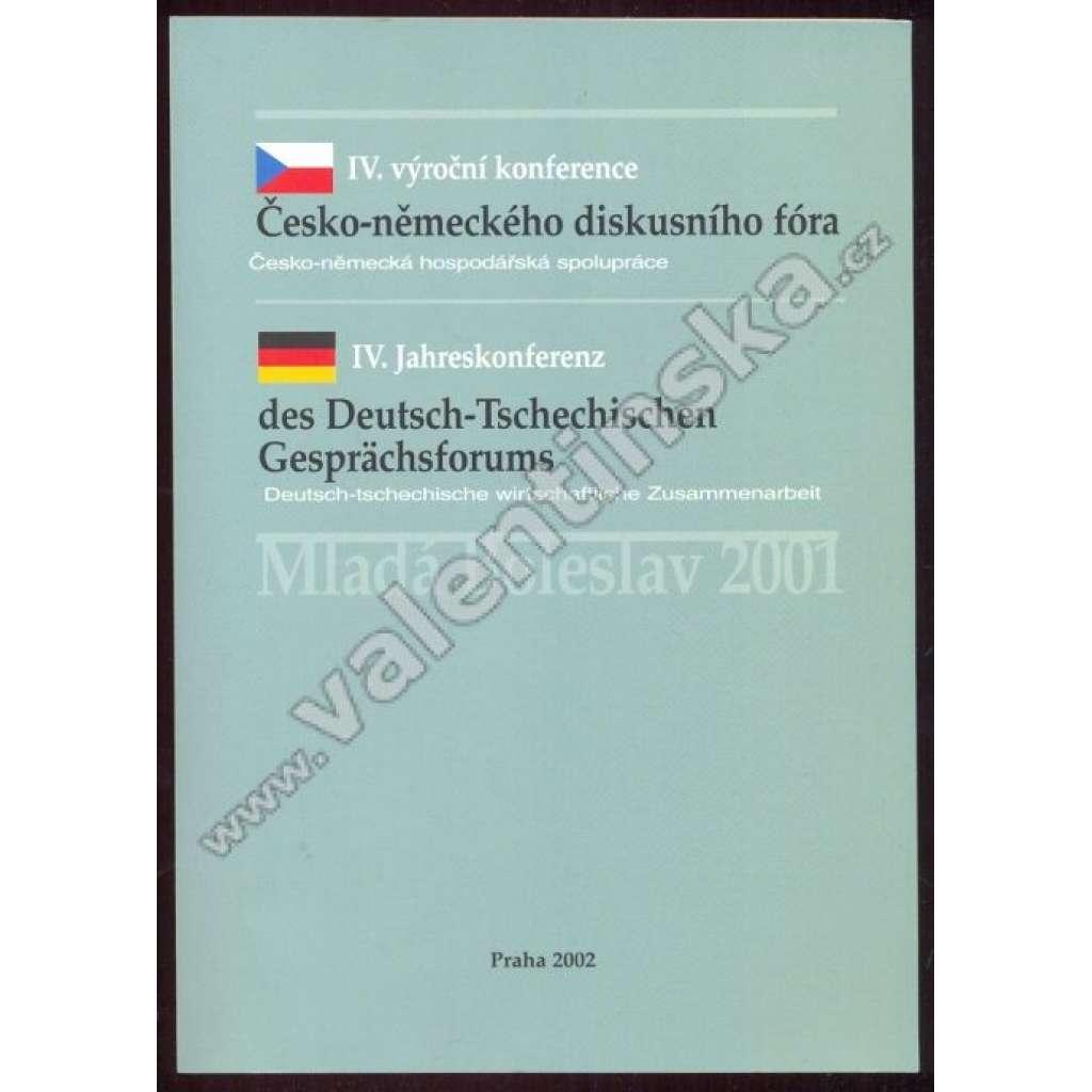 IV. výroční konference Česko-německého diskusního