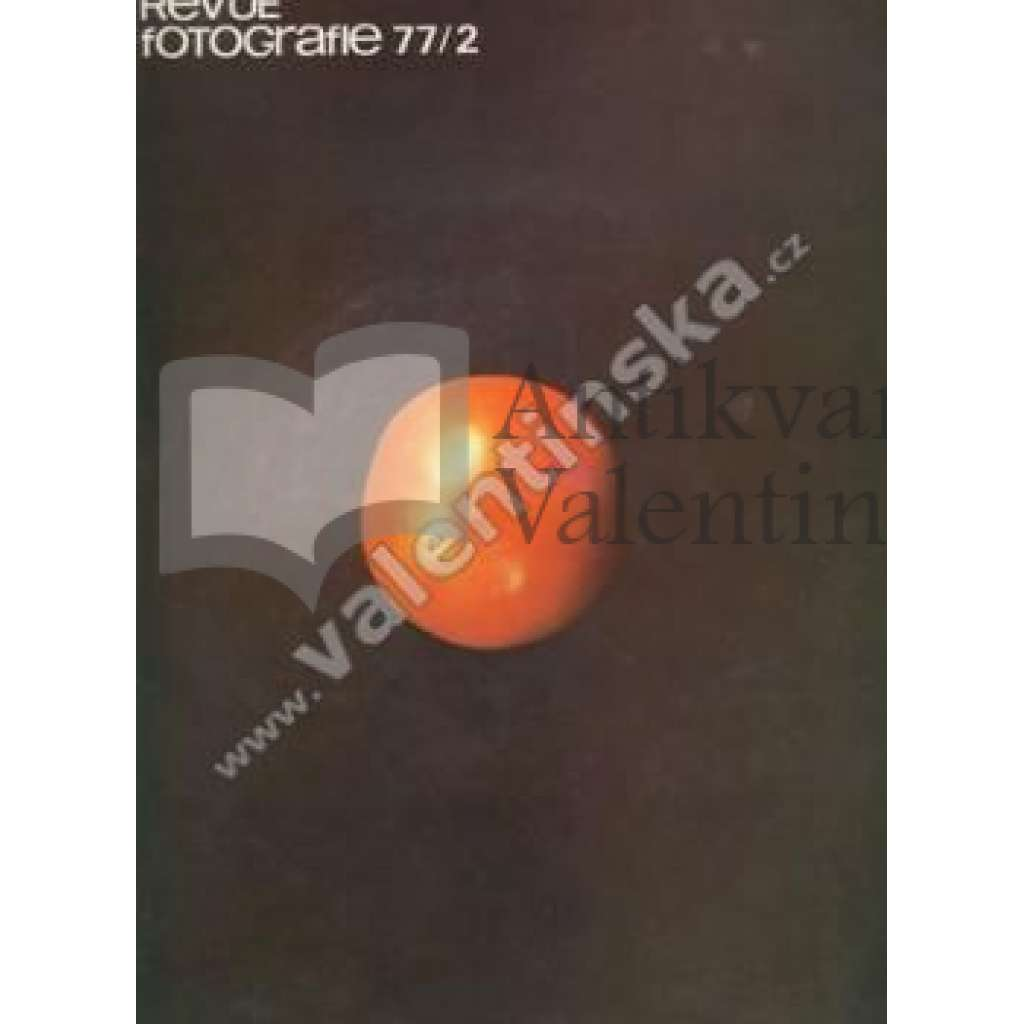 Revue Fotografie 77. Ročník XXI. Číslo 2.