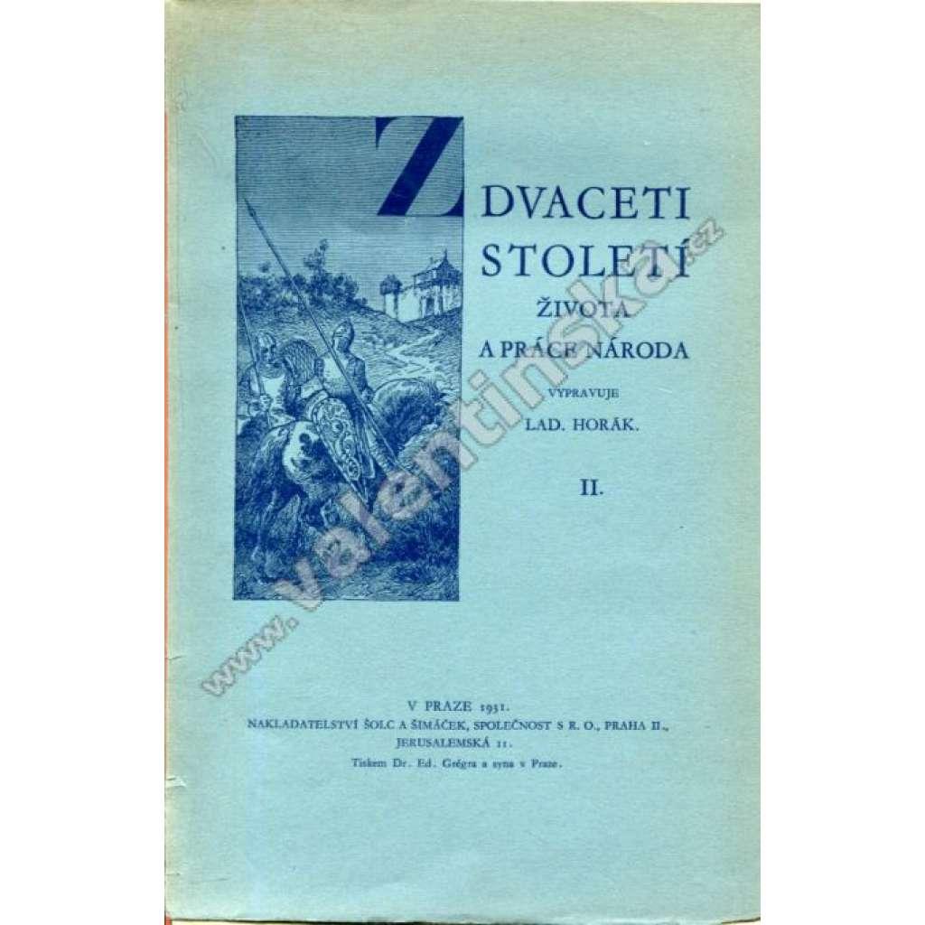 Z dvaceti století života a práce národa II.