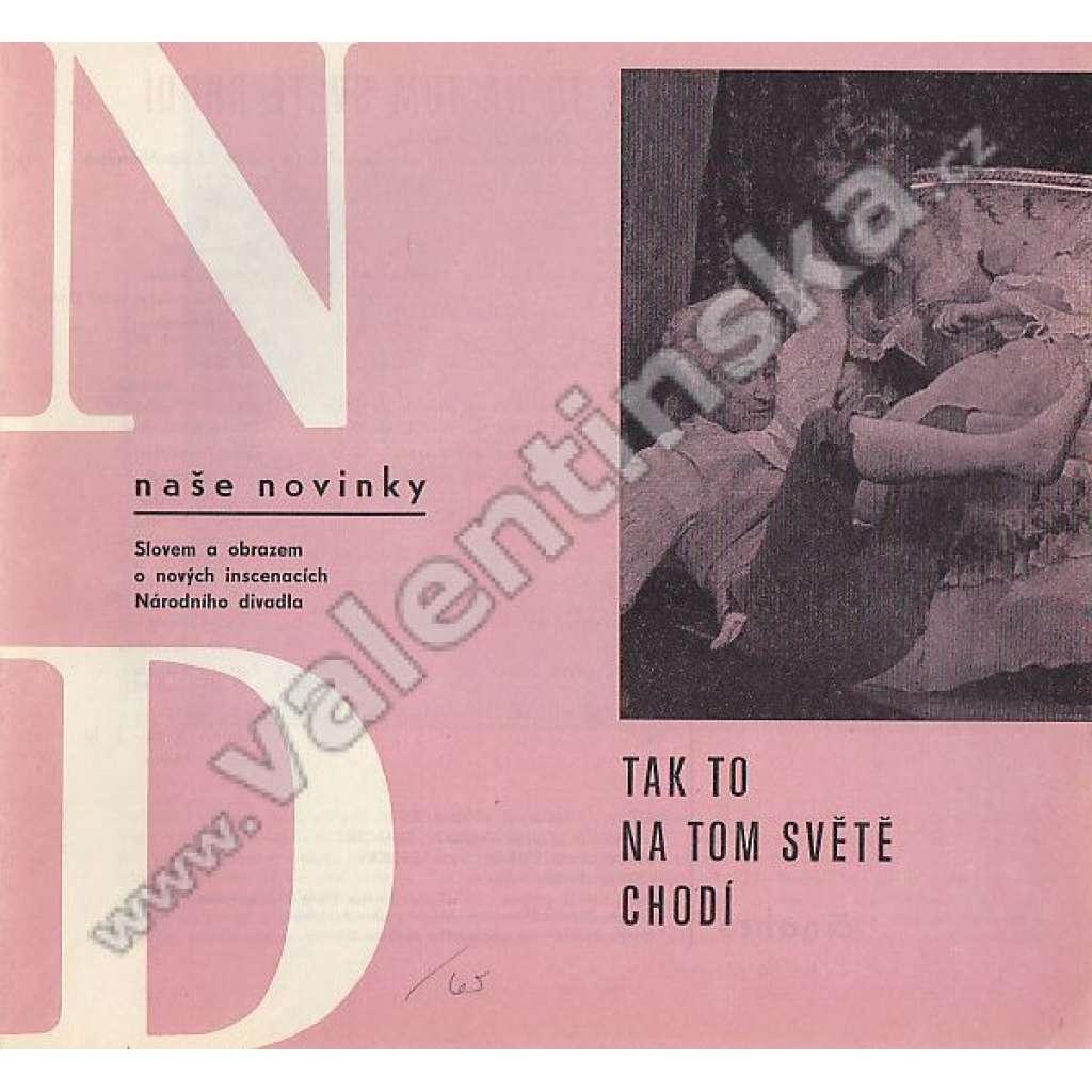 ND - naše novinky, sezóna 1966/67