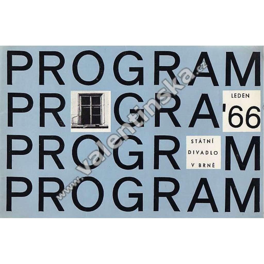 Program - leden 1966
