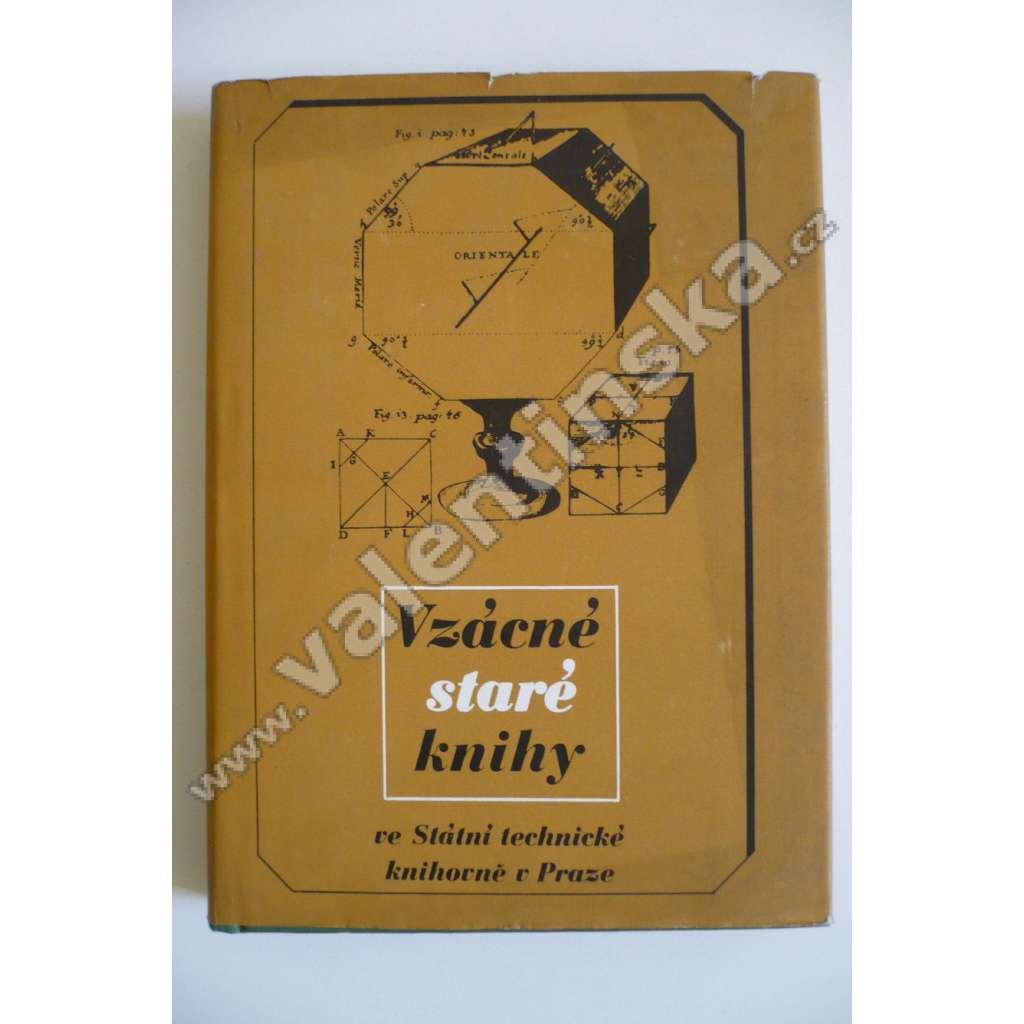 Vzácné staré knihy ve Státní technické knihovně v