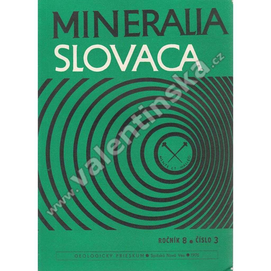 Mineralia Slovaca, roč. 8. (1976), č. 3