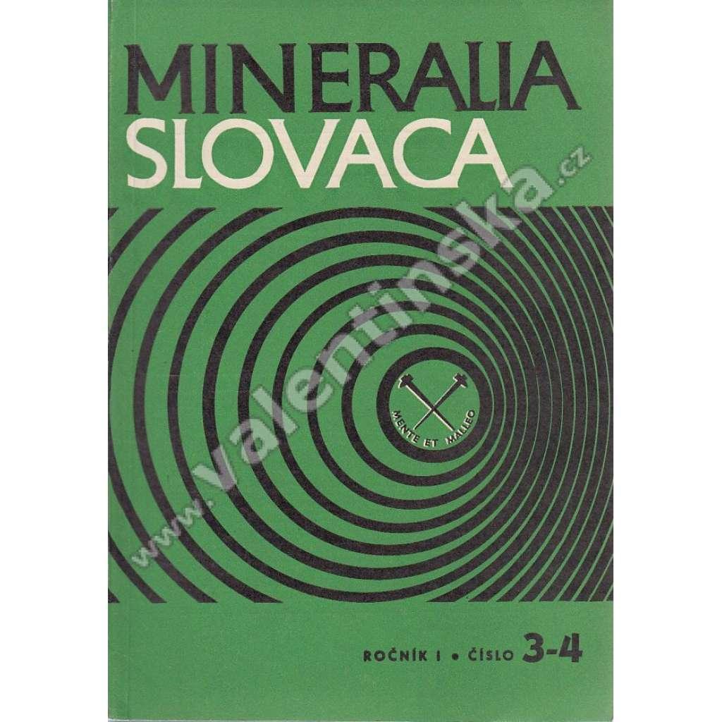 Mineralia Slovaca, roč. 1. (1969), č. 3-4