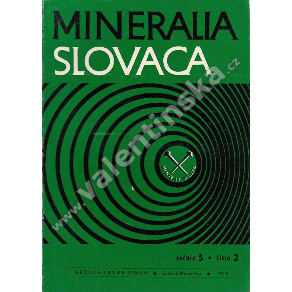 Mineralia Slovaca, roč. 5. (1973), č. 2