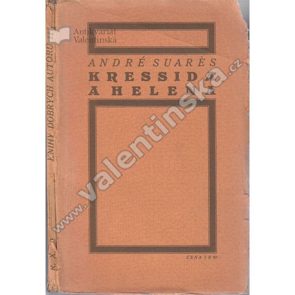 Kressida a Helena (ed. Knihy dobrých autorů)