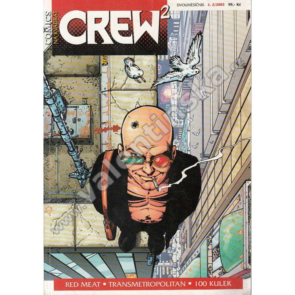Comicsový magazín Crew, 2/2003