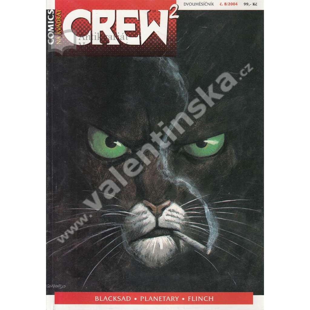 Comicsový magazín Crew, 8/2004
