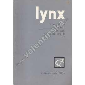 Lynx, supplementum II. / 1971