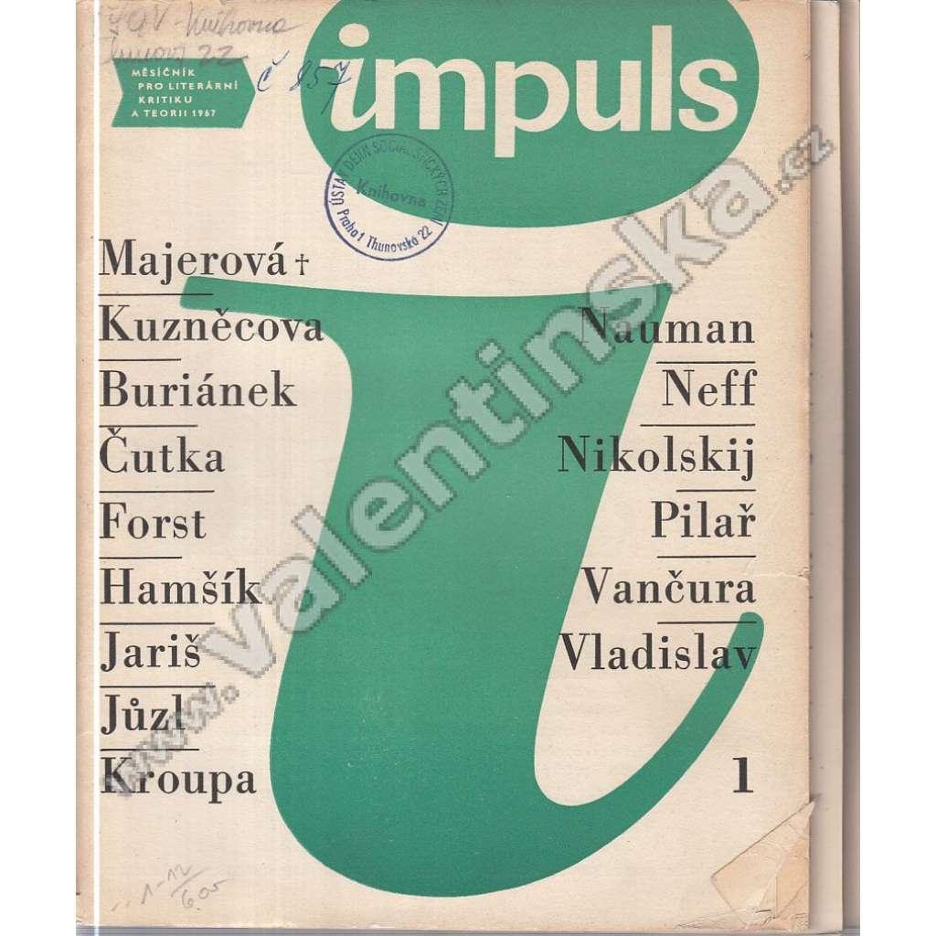 Měsíčník Impuls, r. II. (1967), v sešitech