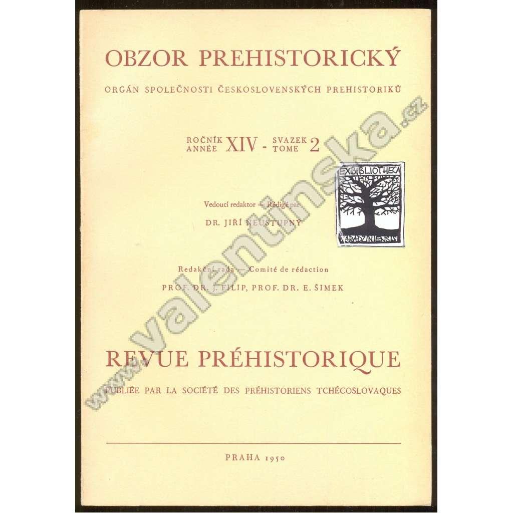 Obzor prehistorický XIV/2-1950