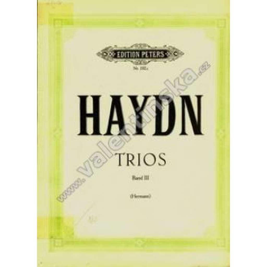 Trios. Band III.