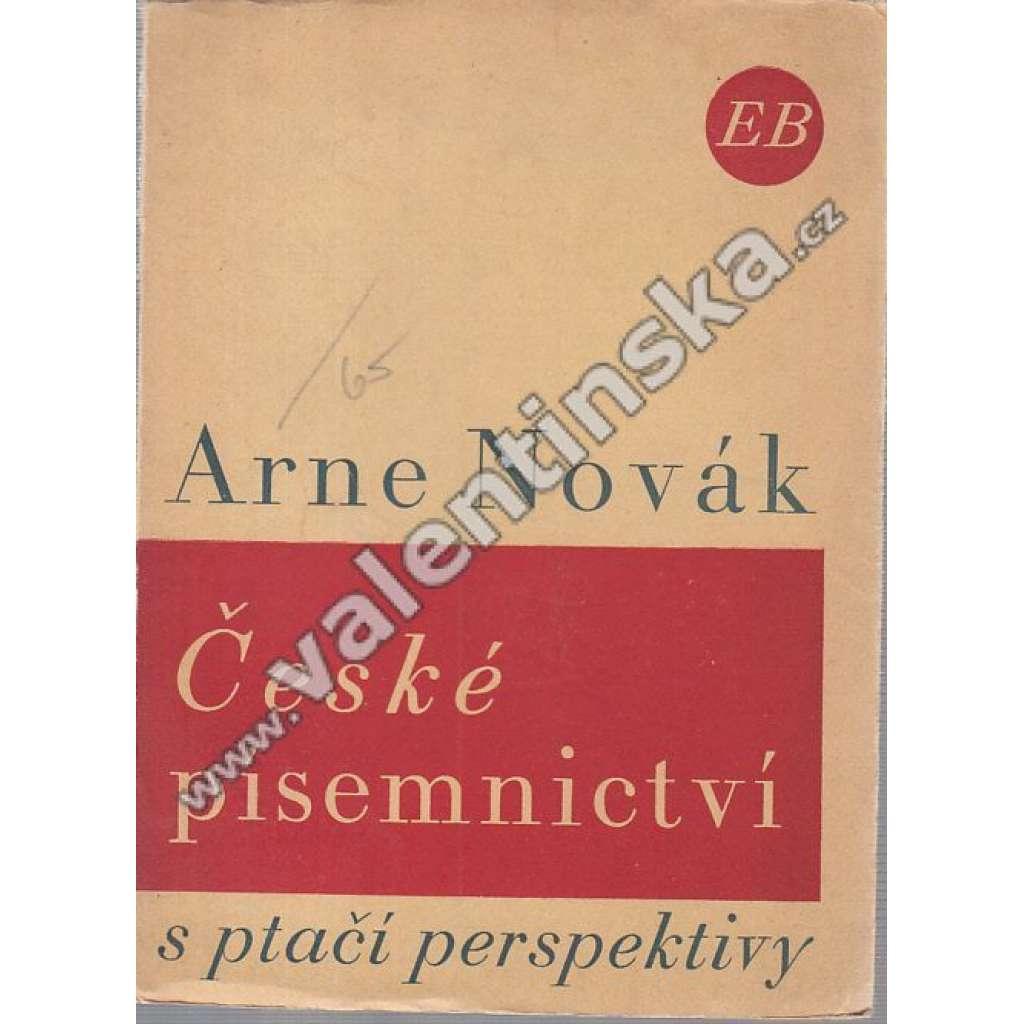 České písemnictví s ptačí perspektivy