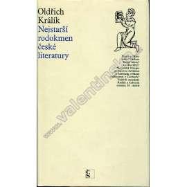 Nejstarší rodokmen české literatury