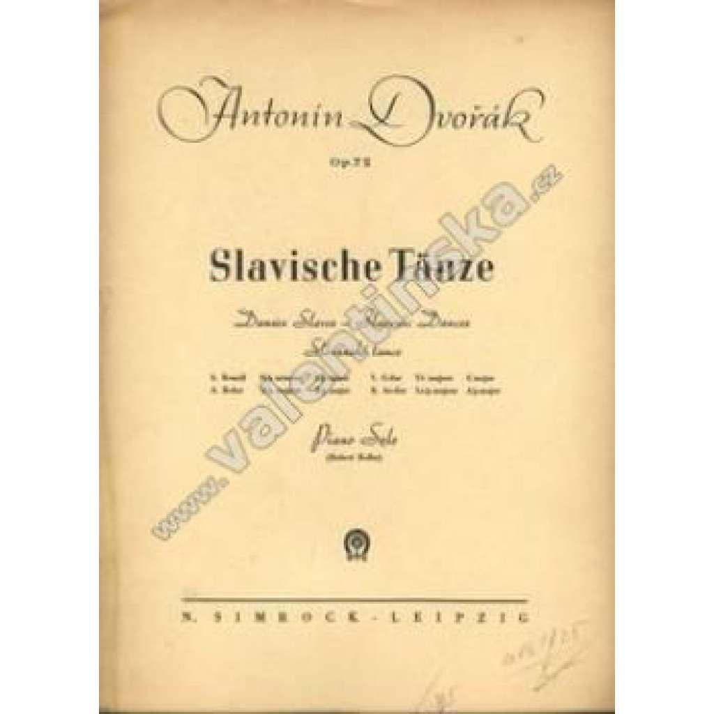 Slavische Tänze  Op.72