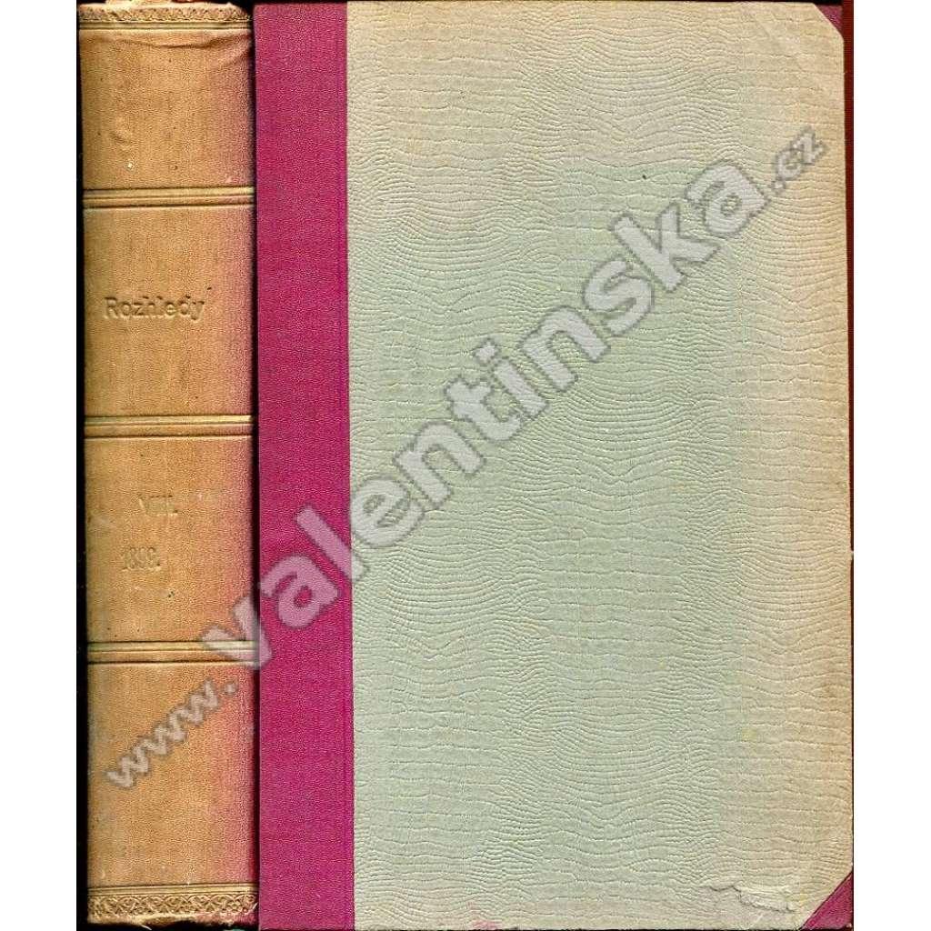 Rozhledy, r. VIII. (1899)