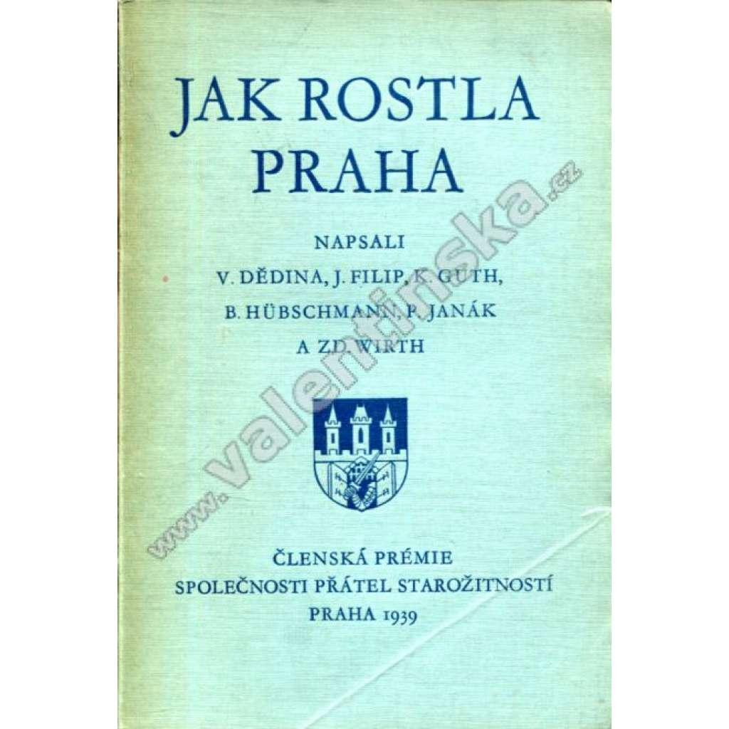 Jak rostla Praha