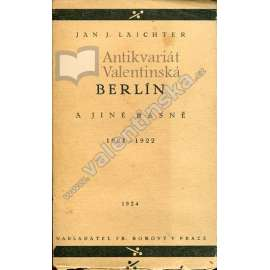 Berlín a jiné básně (1921-1922)