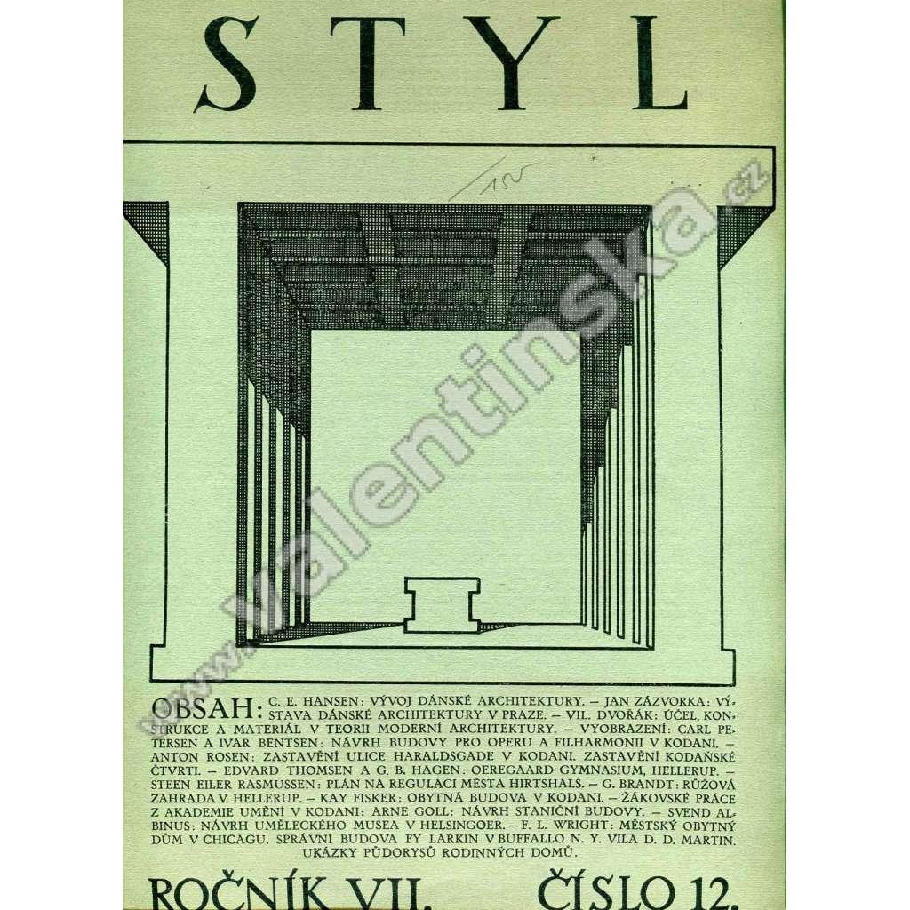 Styl 12 / VII (1926)