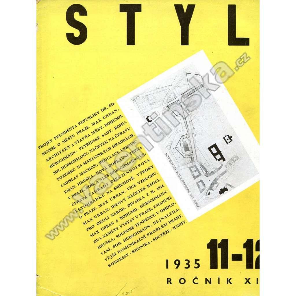 Styl 11-12 / XIX (1935)