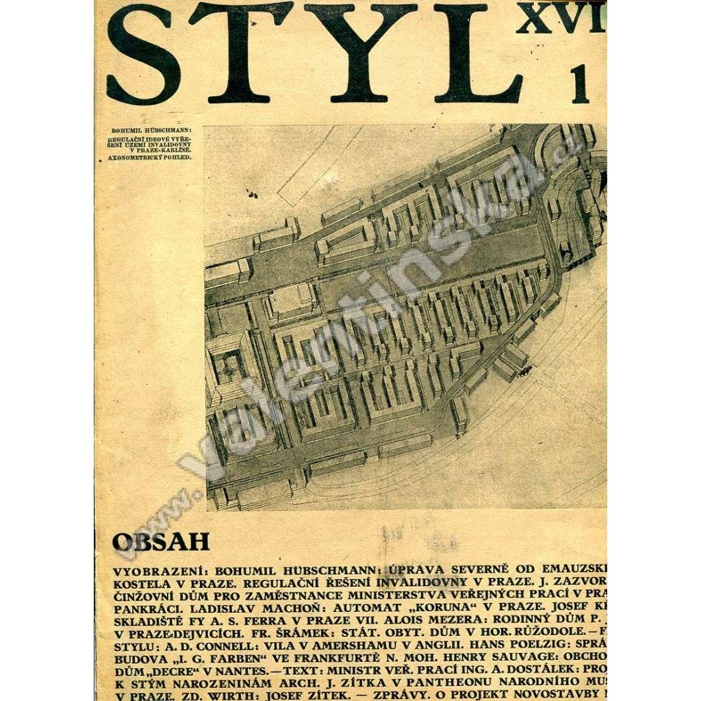 Styl  1–6, 12 / XVII (1932)