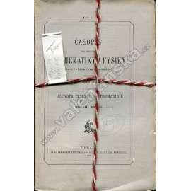 Časopis pro pěstování mathematiky a fysiky, 1903