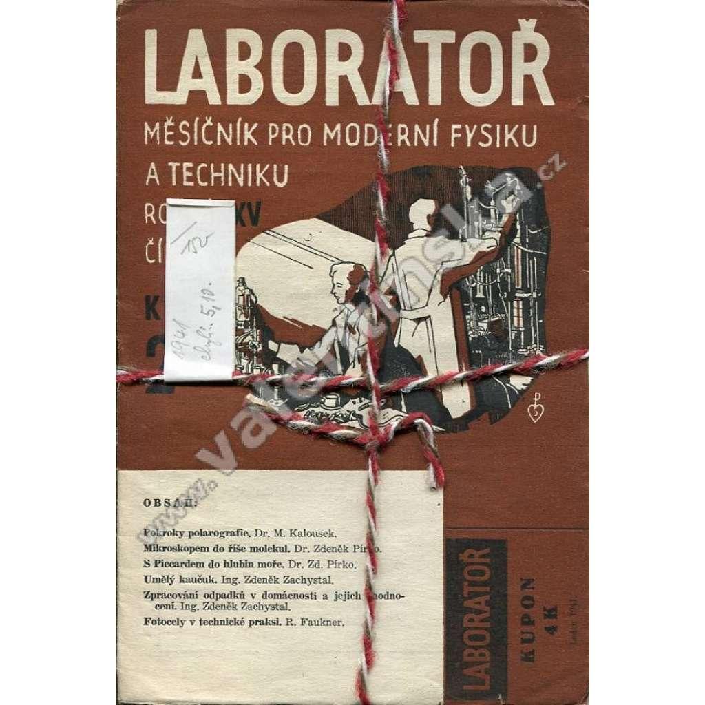 Laboratoř, r. XV. (1941)
