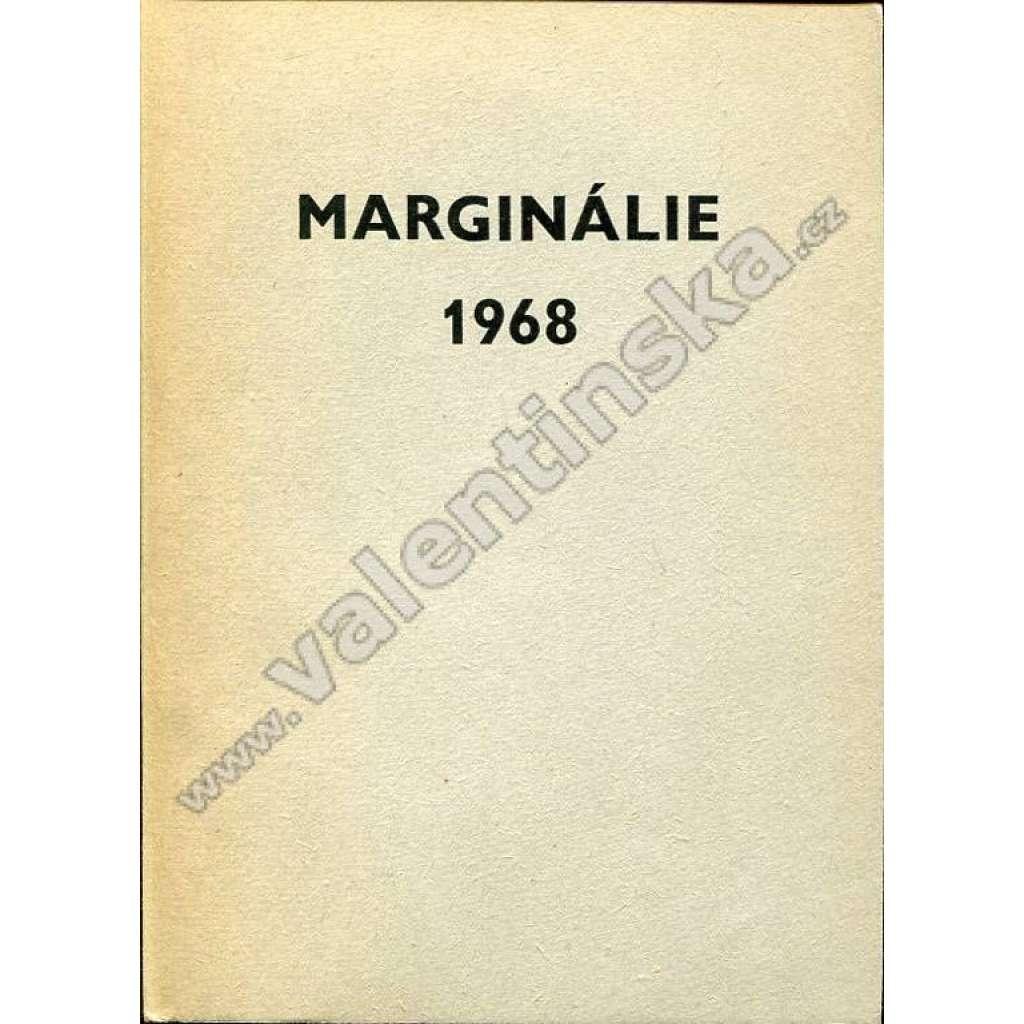 Marginálie 1968