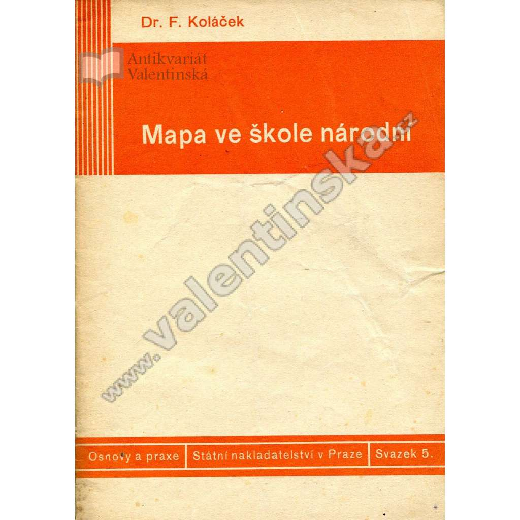 Mapa ve škole národní