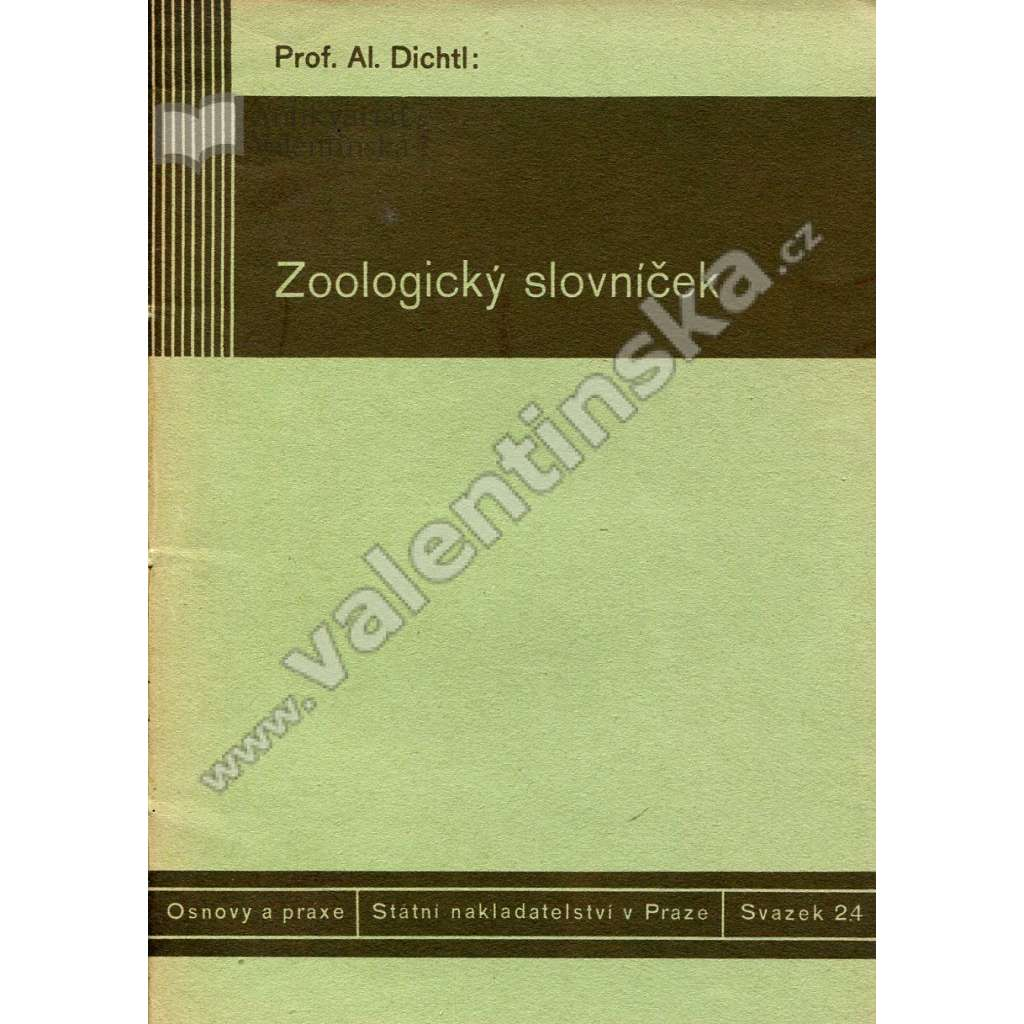 Zoologický slovníček