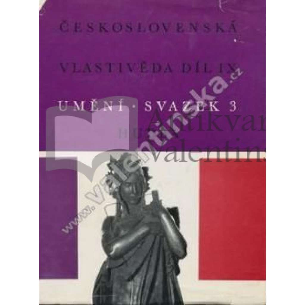Československá vlastivěda, díl IX.Umění,sv.3-Hudba